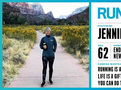 Runner's World+ Member: Jennifer Woltjen