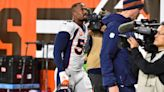 Miller injures ankle, Broncos slide to 4th straight loss