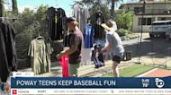 Teens in Poway give back through their love of baseball