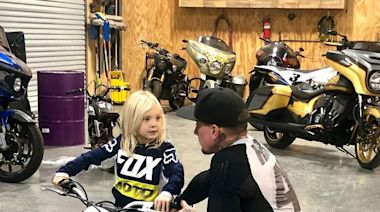See Pink and Carey Hart's Son Jameson, 3½½, Spend His 'First Day on a Motorcycle': 'He Killed It!'