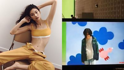 鄭浩妍示範內衣晒腰展魅力 Fans求演第二季《魷魚遊戲》