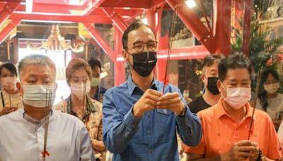 朱立倫與顏清標拜大甲媽 為城中城傷者祈福   台灣好新聞 TaiwanHot.net