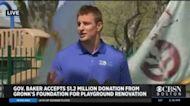 Rob Gronkowski On His Foundation Donating $1.2 Million To Renovate Boston Playground