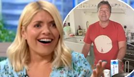 Holly Willoughby jokes John Torode has 'saved her marriage'
