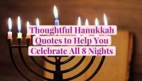 14 Thoughtful Hanukkah Quotes to Help You Celebrate All 8 Nights
