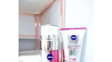 開箱試用NIVEA雙效淡斑透白精華及防曬修護霜 ~ 淡斑美肌1+1 | Girlssss 女生日常 - 分享快樂正能量