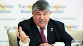 Buzz: Trumka proudest of 50-year pin, Reagan library chief moving on, Miller rallies GOP youth to fight
