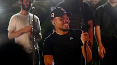 """Chance the Rapper Drops in on Death Cab for Cutie's Lollapalooza Set to Perform 'Big Day' Collab """"Do You Remember"""""""