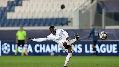 Ferland Mendy snatches win for drab Real Madrid over 10-man Atalanta