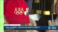 USA Triathlon hosts watch party to cheer on women's team