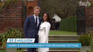 Prince Harry and Meghan Markle Paid $3.3 Million for Frogmore Cottage Rent and Renovations, New Report Reveals