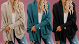 'Cutest and coolest sweater on Amazon': Catch this batwing cardigan on sale before it flies away