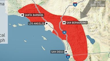 Wildfire risk to ramp up for Southern California as Santa Ana threat looms