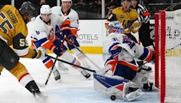 Ilya Sorokin makes career-high 42 saves in Islanders' 2-0 win over Golden Knights