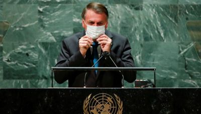 Brazil's Bolsonaro in COVID isolation after trip to U.N.