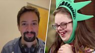 After missing her senior trip to NYC, she gets a surprise from Lin-Manuel Miranda