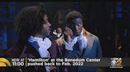 'Hamilton' At Benedum Center Pushed Back To 2022