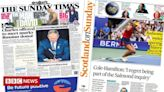 Scotland's papers: Salmond inquiry 'regret' and Charles charity row
