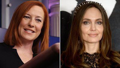 Press Secretary Jen Psaki Praises Angelina Jolie After White House Meeting: 'Tireless and Committed'