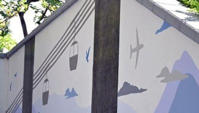 (多圖)路政署將當地風貌融入隧道天橋 籲途人放慢腳步