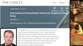港醫《刺針》撰文:香港處於持續不文明之戰 警拘醫護阻救援違國際人道主義規範