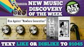 """New Music Discovery Of The Week: Rise Against """"Nowhere Generation"""" 