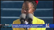 Amanda Gorman Becomes The Youngest Poet To Address A Presidential Inauguration