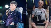 「靚聲王」張偉文昨連人帶輪椅倒地受傷 暴瘦坐輪椅照曾於網上瘋傳
