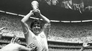 World mourns soccer great Diego Maradona