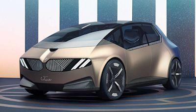 BMW概念車告訴你什麼叫環保! 不只100%回收材打造它連藍白廠徽都拔掉
