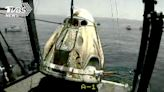 SpaceX太空船返回地球 成功降落佛州外海│TVBS新聞網