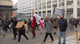 Dozens March in Streets of Philly to Protest Police Deadly Shooting Of Daunte Wright