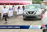 WDSU holds back to school drive in New Orleans