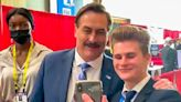 WATCH: MyPillow CEO asks CPAC attendees to remove face masks before cozying-up to take selfies