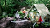 Meet the 'Designing Divas' who create the fairy houses along Aullwood trail