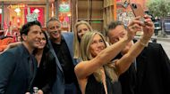 Jennifer Aniston Shares Never Before Seen Photos From 'Friends: The Reunion'