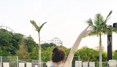 水上樂園、船P打卡必備!編輯實測持久防水妝容(附海洋公園水上樂園玩水攻略!)