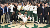 Bucks unveil 2021 NBA championship banner, receive rings ahead of opening night matchup with Nets
