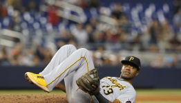Pirates beat Marlins 6-3, 1 win from 1st sweep of season