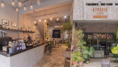 台中西屯區Stockie Cafe咖啡,精明路植栽系咖啡廳,內部清水模與舊窗框交 | 部落客頻道 | 妞新聞 niusnews