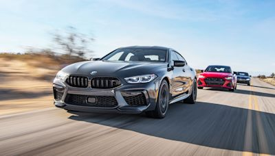 Tested: 2021 Audi RS7 vs. BMW M8 GC vs. Mercedes-AMG GT63 S