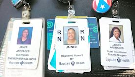 A woman's inspiring journey from janitor to health care worker