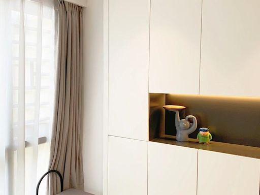 超級有氣質的現代風新房,橫廳+無主燈設計,這才是理想中的新家