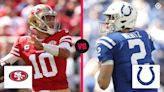 What channel is 49ers vs. Colts on today? Schedule, time for 'Sunday Night Football' in Week 7
