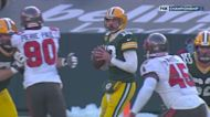Aaron Rodgers' best throws from 3-TD game NFC Championship Game
