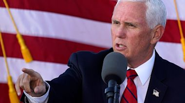 Pence to continue campaigning despite a COVID-19 outbreak that has hit at least 4 of his staff
