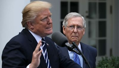 """McConnell says GOP should move beyond Trump's """"rehash"""" of 2020 election"""