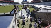 Titans, Vikings suspend in-person activities after Titans' eight positive COVID-19 tests