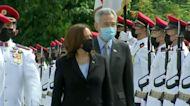 Vice President Harris starts Asia trip in Singapore