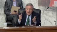 Durbin presses Barrett on rights of felons to own guns and to vote